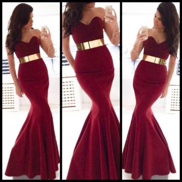 dress red dress burgundy dress