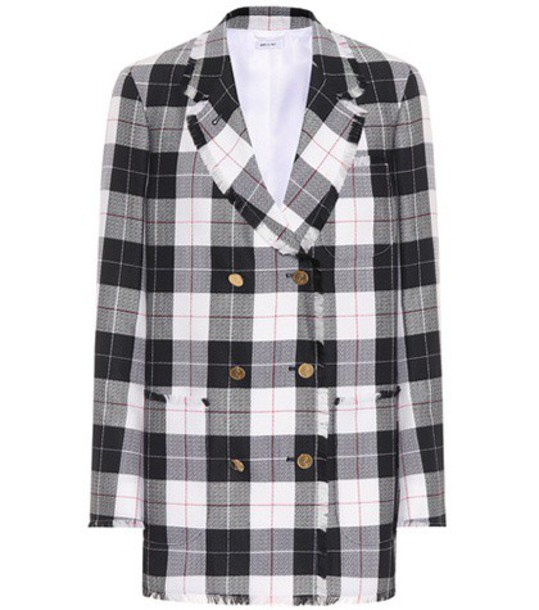 Thom Browne jacket wool blue