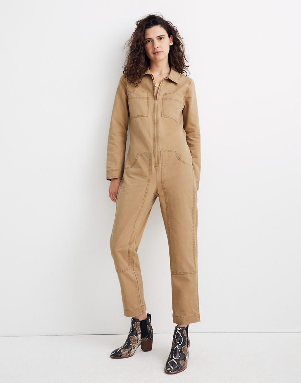 Women's Madewell x Dickies Zip Coverall Jumpsuit