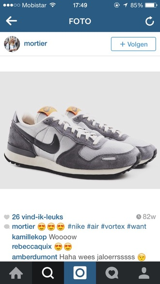 shoes grey shoes nike vortex nike air nike trainers