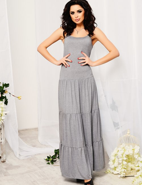 ef8573631c7 Women s Smart Casual Halter Slip Maxi Dress