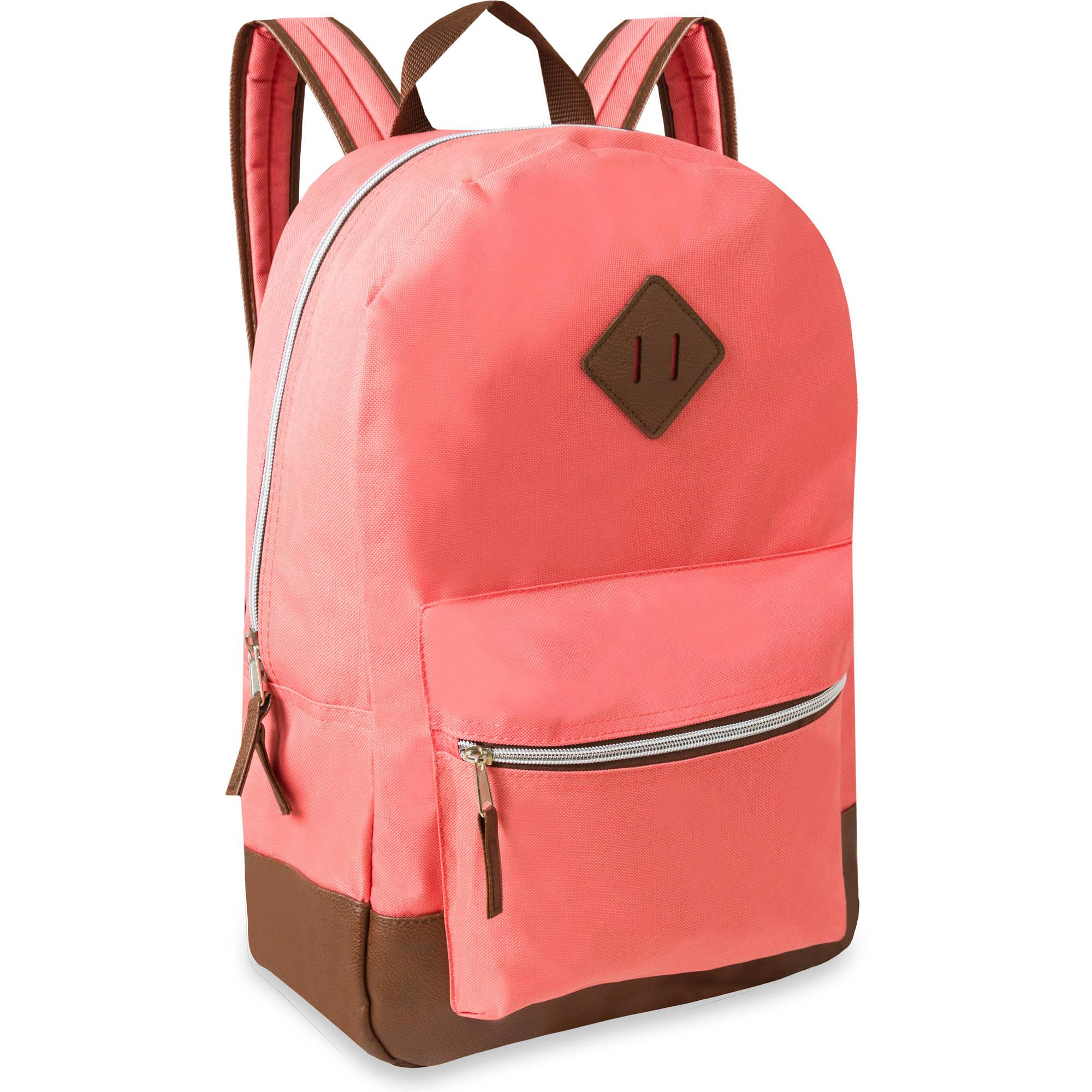 17.5'' Classic Backpack With Reinforced Vinyl Bottom and ...