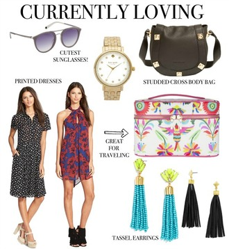 life with emily blogger bag dress jewels