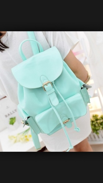 bag backpack pastel goth pastel pastel blue blue cute