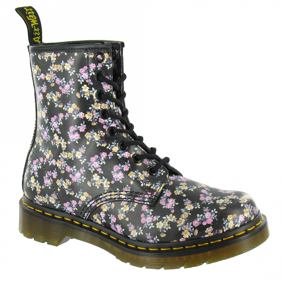 Martens 1460W Mini Tydee Womens Leather 8-Eyelet Ankle Boots ...