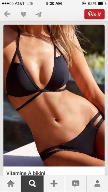 swimwear grey bikini