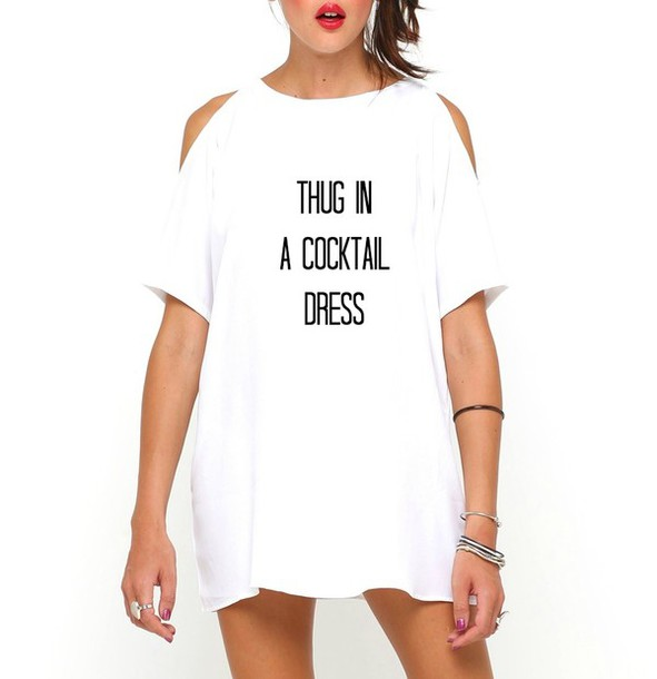 2c3603b2c9d7 dress bgclique cute hipster white new york city clothes girly hippie quote  on it