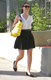 bag,emmy rossum,shoes,sunglasses