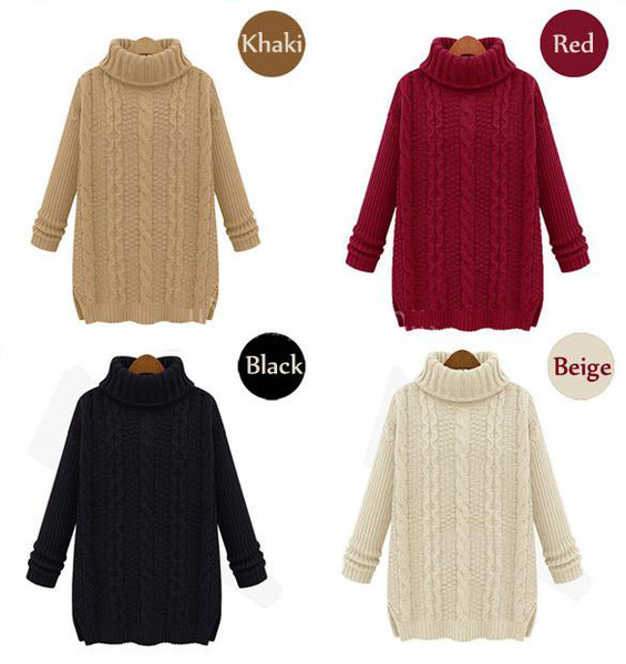 Olivia chunky knit sweater
