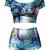 Alice in Wonderland Bikini - PressPlay Fashion Australia
