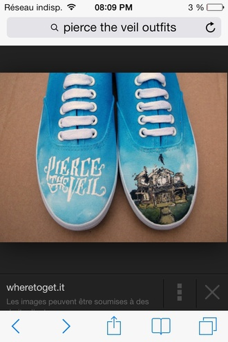 shoes pierce the veil vans