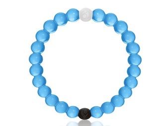 jewels blue white black braclets lokai