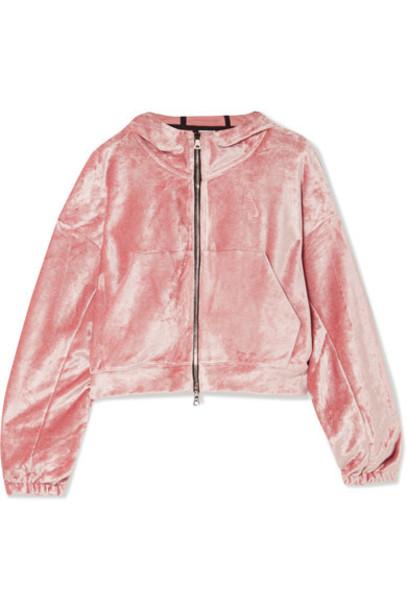 Nike top baby velvet pink baby pink