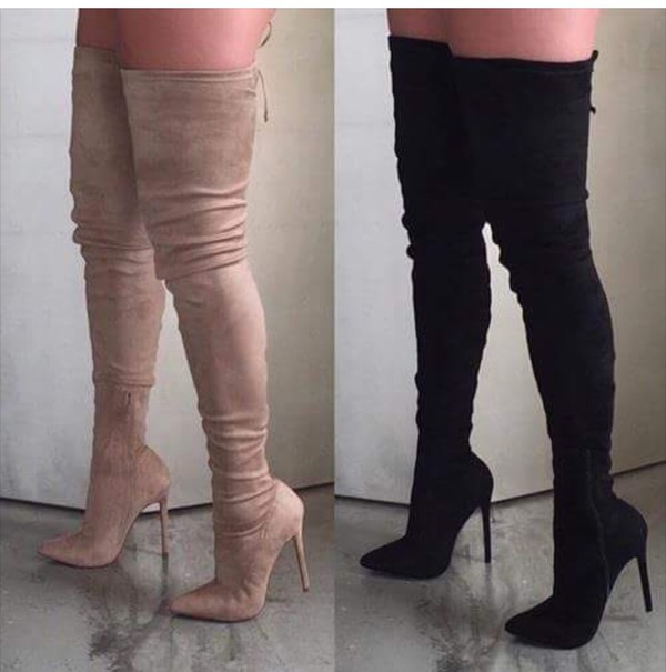 extreme thigh high boots
