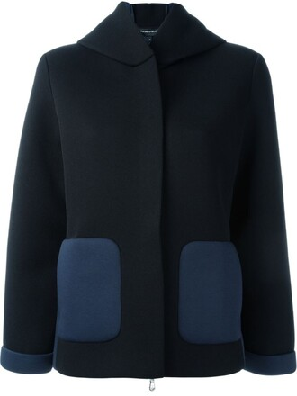 jacket neoprene black