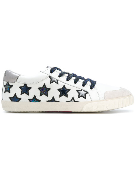 Ash - Majestic sneakers - women - Cotton/Leather/Nappa Leather/rubber - 41, White, Cotton/Leather/Nappa Leather/rubber