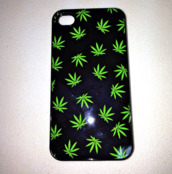 phone cover,weed