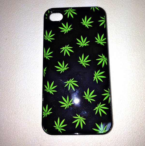 phone cover weed