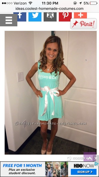 dress tiffany blue halloween mini dress mint dress