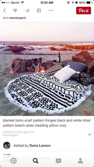 home accessory aztec blanket white black blanket aztec tribal pattern tribal blanket