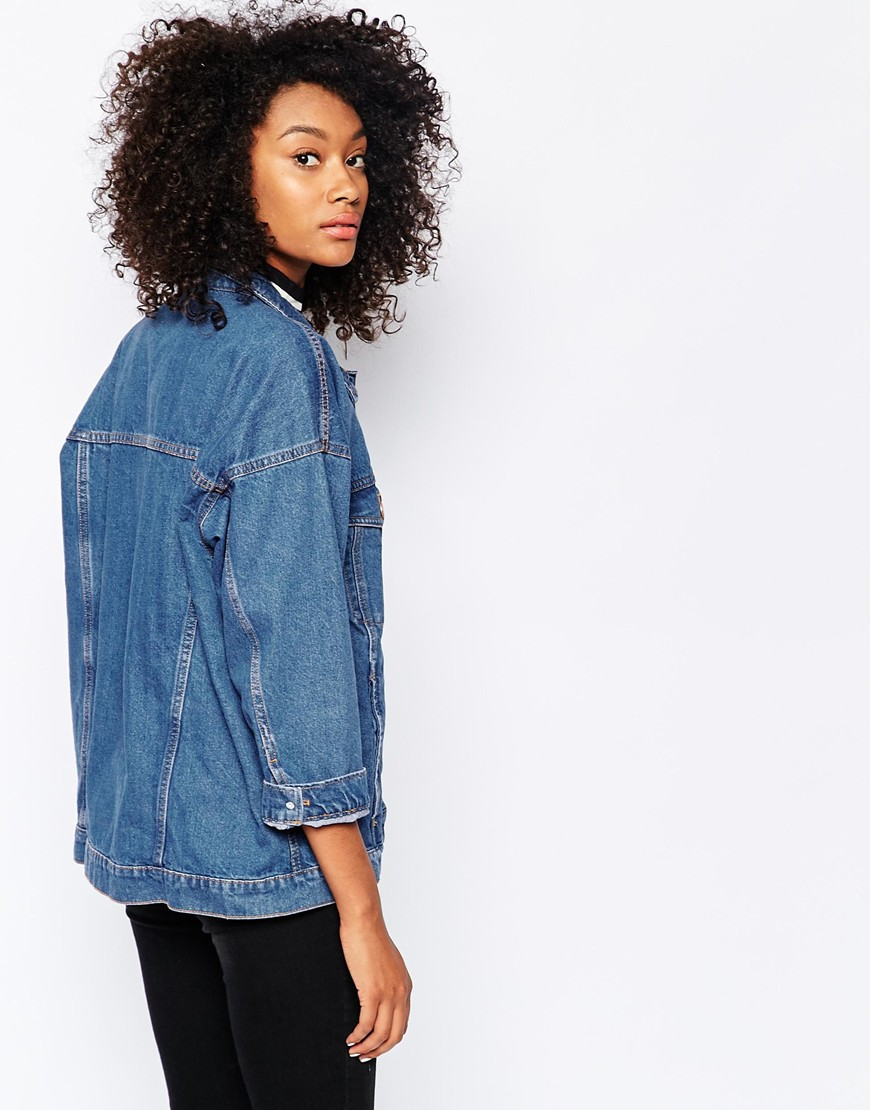monki denim jacket