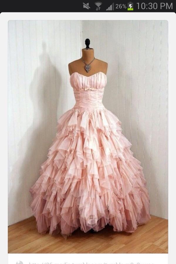 dress pink pink dress grad homecoming long long dress