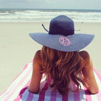 hat summer women