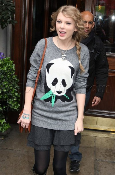 sweater panda jumper taylor swift