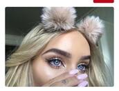 hair accessory,fur,cute,balls,fur balls,headband,flower headband,fashion,faux fur