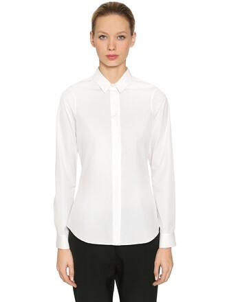 shirt monday cotton white top