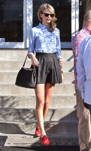 blouse skirt shoes taylor swift