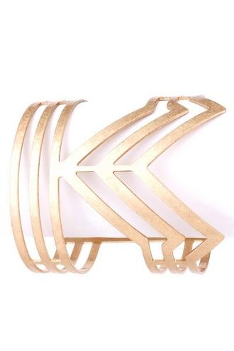jewels arrow cuff bracelet gold girly wishlist hipster wishlist