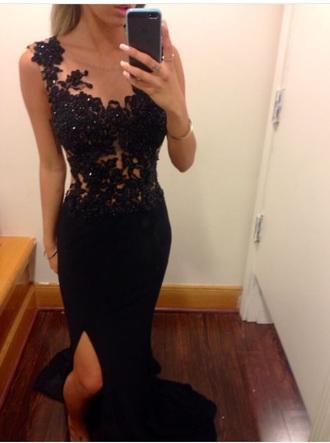 dress prom prom dress prom gown black dress gown