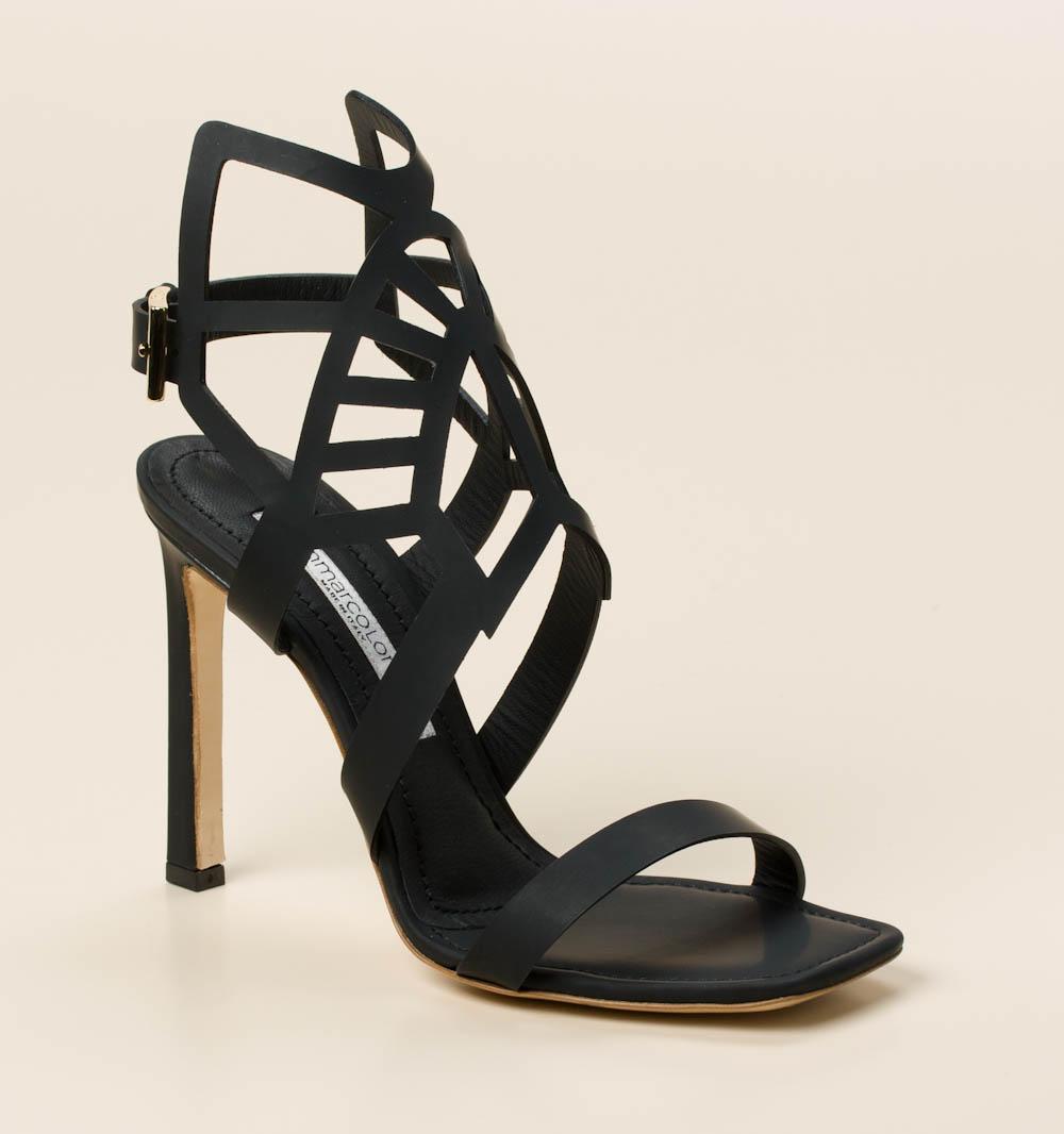 Gianmarco Lorenzi Damen Sandalen & Sandaletten in schwarz kaufen | Zumnorde