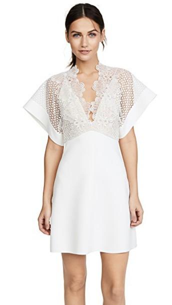 Lover dress mini dress mini white