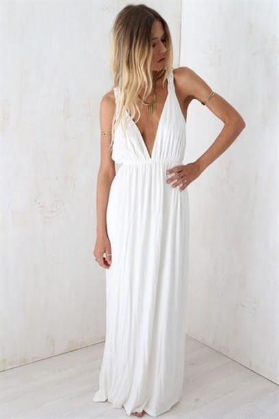 Tank White Dress