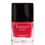 nail polish,butter london,red nails,red