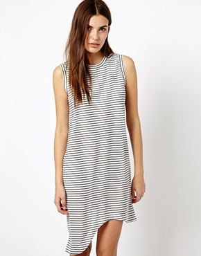 Finders Keepers | Finders Keepers Hold Up Dress in Stripe at ASOS