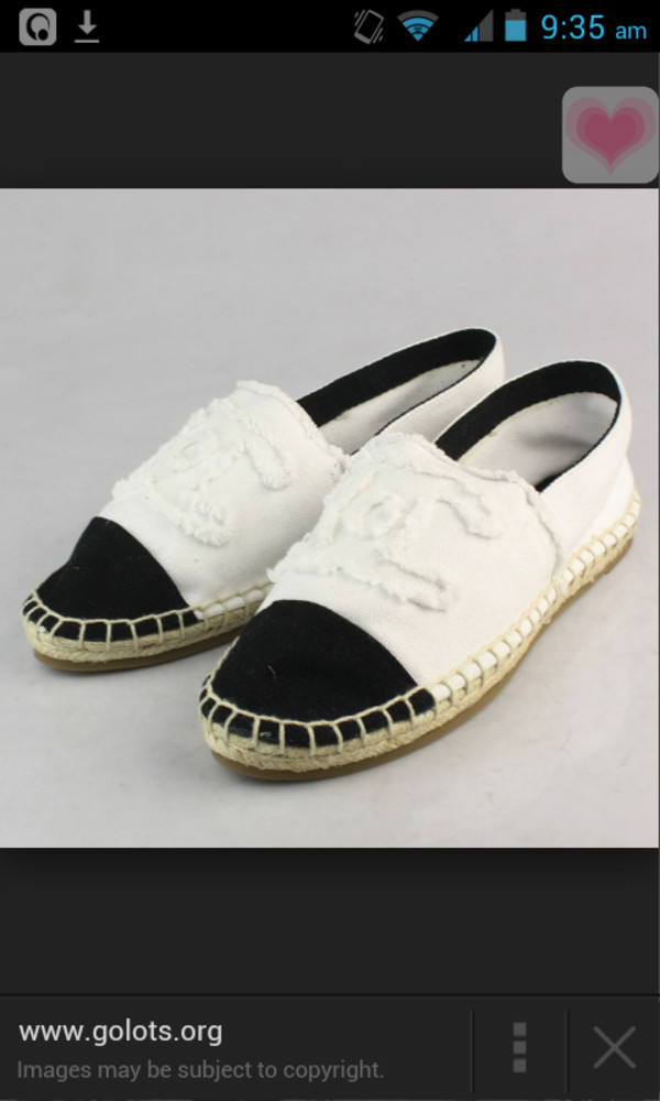 shoes white chanel flats