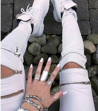 pants dress jeans fashion zip style shoes timberlands jewelry nice cool love