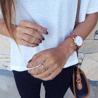 jewels watch ring bracelets