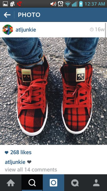 shoes plaid shoes low top sneakers