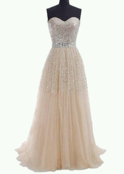 glitter dress prom dress sparkles cute pretty