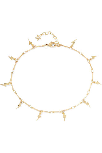 mini anklet gold jewels
