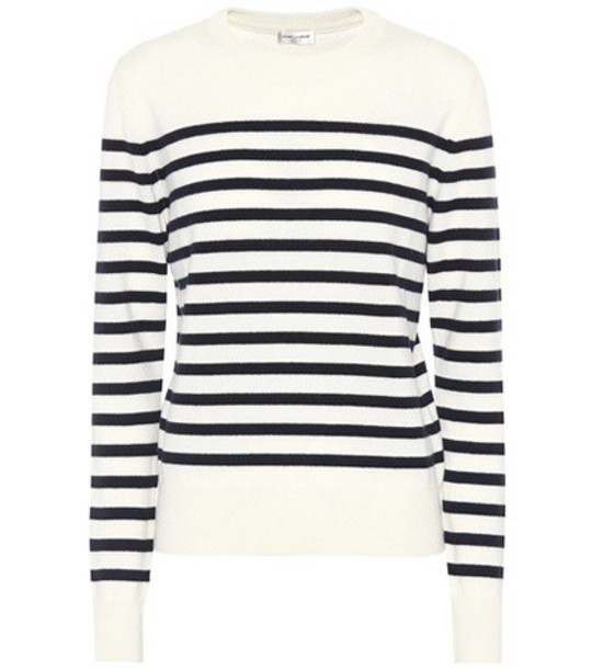 Saint Laurent sweater white