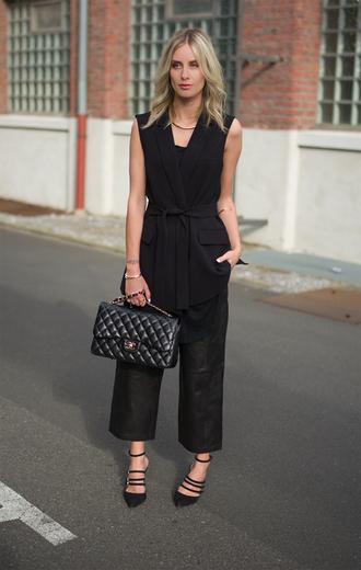 lisa rvd blogger jacket bag shoes jewels