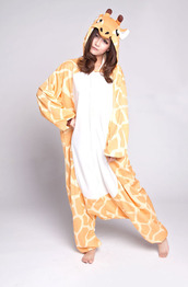 underwear,giraffe,animals onesie,kigurumi animal onesies