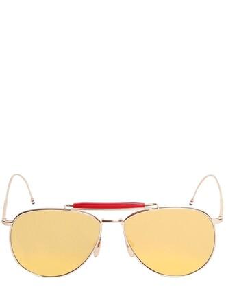 sunglasses aviator sunglasses gold