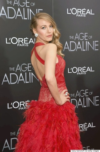 dress blake lively red dress prom dress fashion