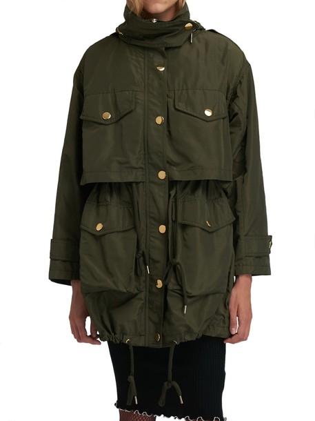 MICHAEL Michael Kors parka green coat